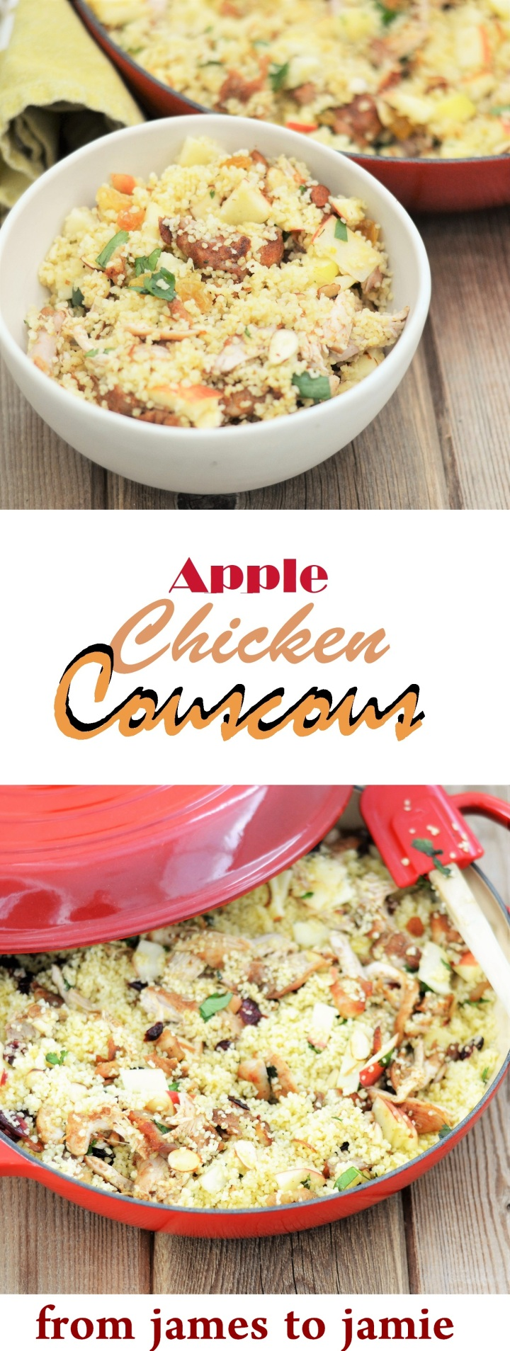 Apple Chicken Couscous